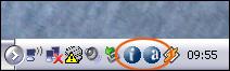 Présence des icones d'avast dans la barre des taches